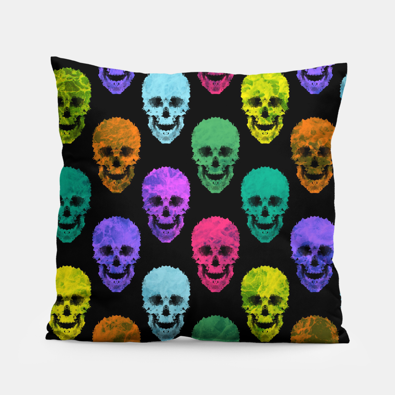 Image of Abstract gothic style Pillow - Live Heroes