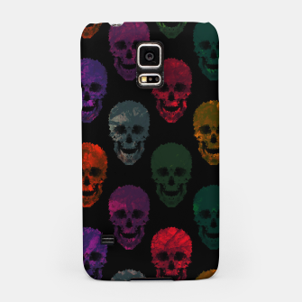 Miniatur Abstract gothic style Samsung Case, Live Heroes