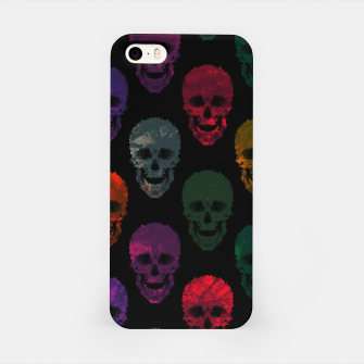 Miniatur Abstract gothic style iPhone Case, Live Heroes