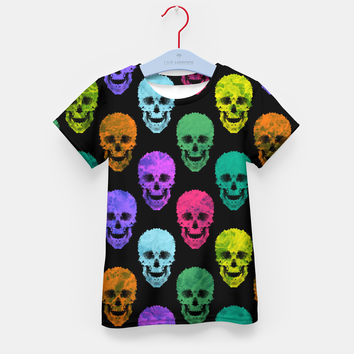 Image of Abstract gothic style Kid's t-shirt - Live Heroes