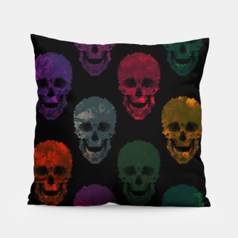Thumbnail image of Abstract gothic style Pillow, Live Heroes