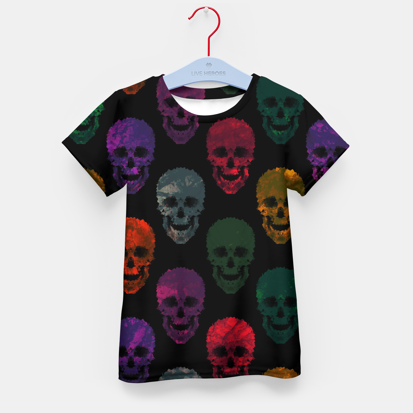 Foto Abstract gothic style Kid's t-shirt - Live Heroes