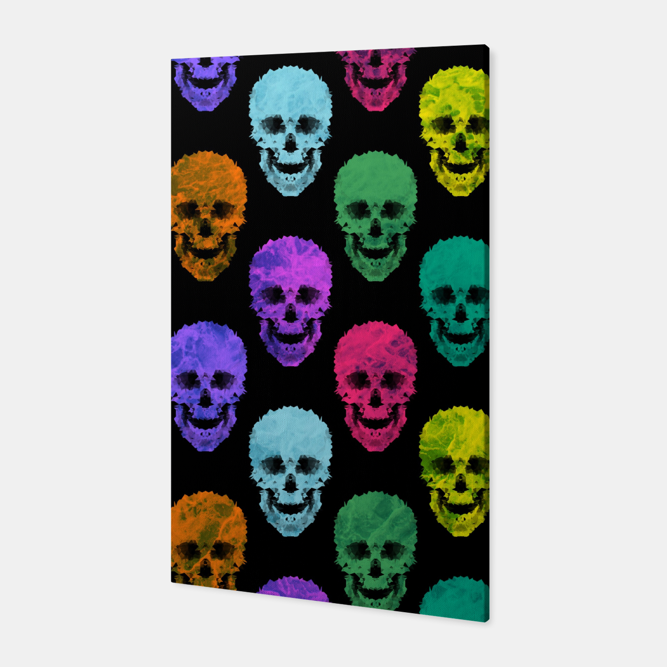 Image of Abstract gothic style Canvas - Live Heroes