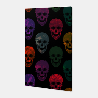 Miniatur Abstract gothic style Canvas, Live Heroes