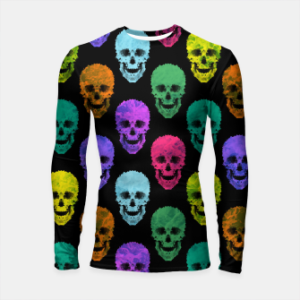 Thumbnail image of Abstract gothic style Longsleeve rashguard , Live Heroes