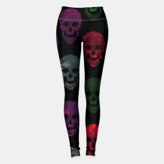 Miniatur Abstract gothic style Leggings, Live Heroes