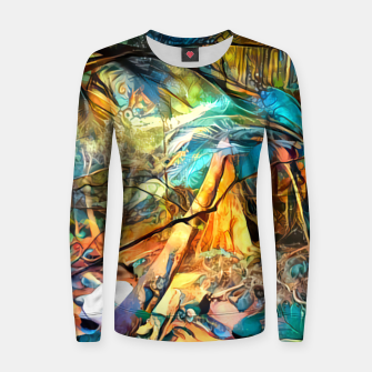 Thumbnail image of Deep Rainforest Women sweater, Live Heroes