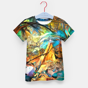 Thumbnail image of Deep Rainforest Kid's t-shirt, Live Heroes