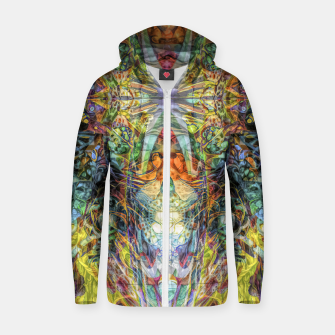 Thumbnail image of Tribal Rainbow Zip up hoodie, Live Heroes