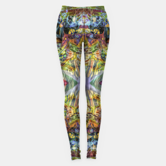 Thumbnail image of Tribal Rainbow Leggings, Live Heroes