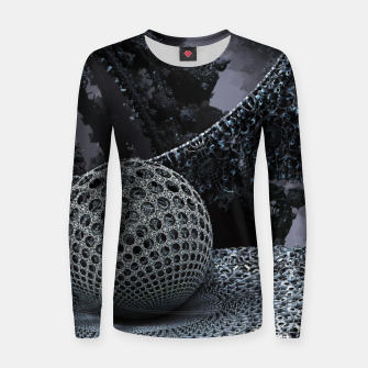 Thumbnail image of Dark Nucleus Women sweater, Live Heroes