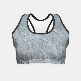 Miniature de image de frozen grass Crop Top, Live Heroes