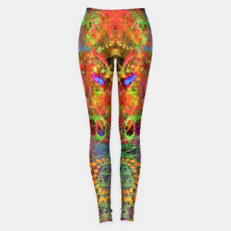 Portal of A Fractured Mind Leggings Bild der Miniatur
