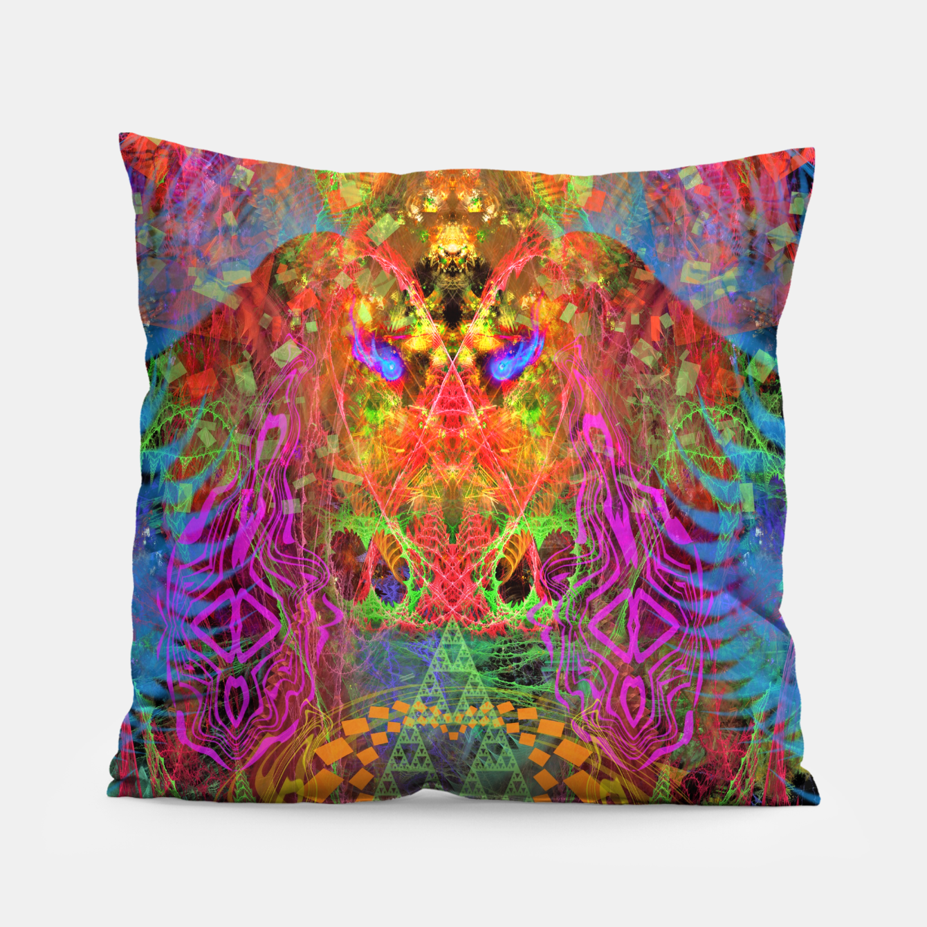 Image of Portal of A Fractured Mind Pillow - Live Heroes