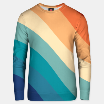 Thumbnail image of Retro Summer Wave #1 #minimal #decor #art  Unisex sweatshirt, Live Heroes
