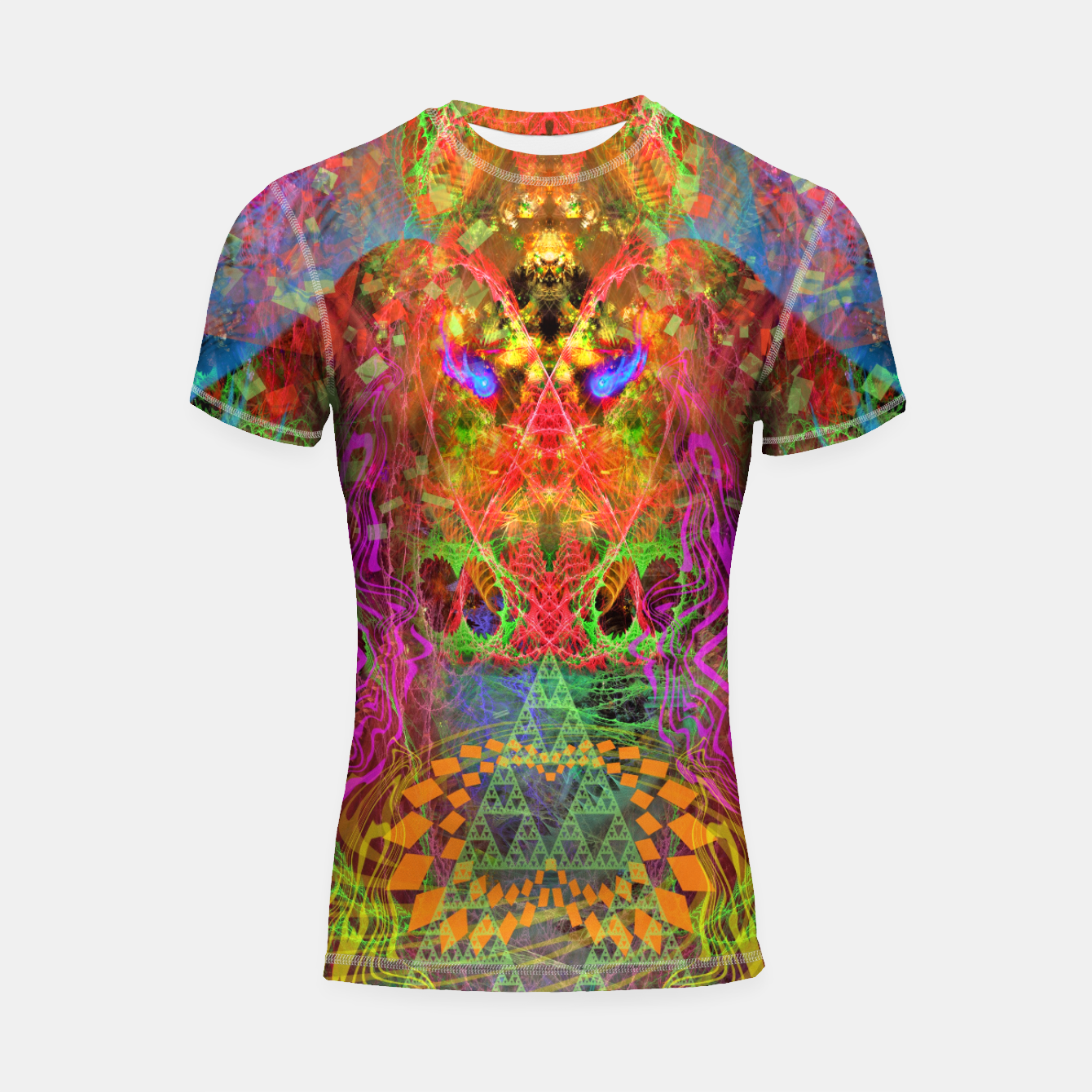 Image of Portal of A Fractured Mind Shortsleeve rashguard - Live Heroes