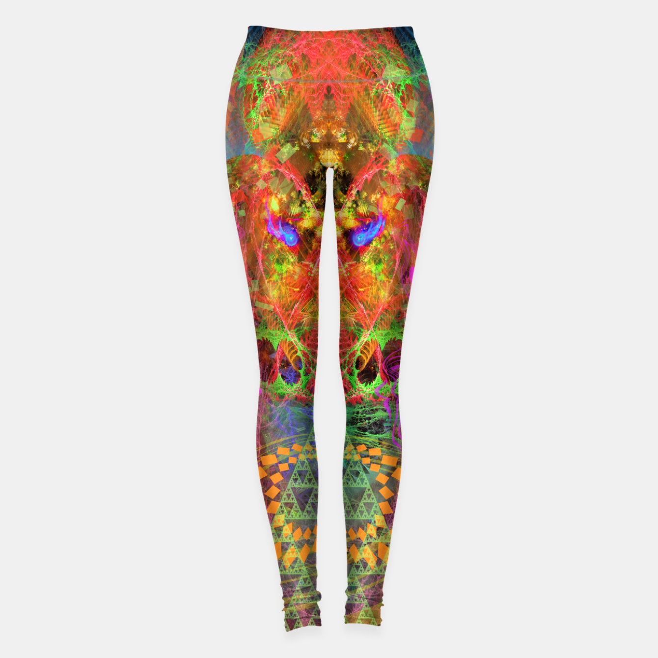 Image of Portal of A Fractured Mind Leggings - Live Heroes