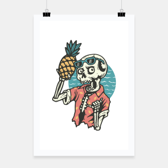 Thumbnail image of Pineapple Lover Poster, Live Heroes