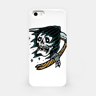 Thumbnail image of Grim Reaper Tattoo iPhone Case, Live Heroes