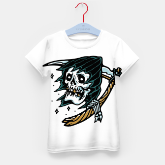Thumbnail image of Grim Reaper Tattoo Kid's t-shirt, Live Heroes