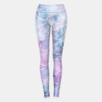 Miniatur Cosmic Heart Dream Pattern #1 #love #decor #art Leggings, Live Heroes