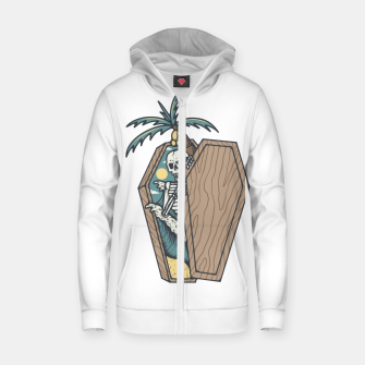 Thumbnail image of Rest in Paradise Zip up hoodie, Live Heroes