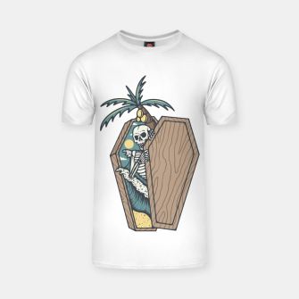 Miniatur Rest in Paradise T-shirt, Live Heroes