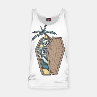 Thumbnail image of Rest in Paradise Tank Top, Live Heroes