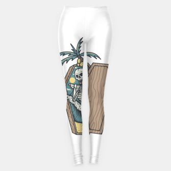 Thumbnail image of Rest in Paradise Leggings, Live Heroes