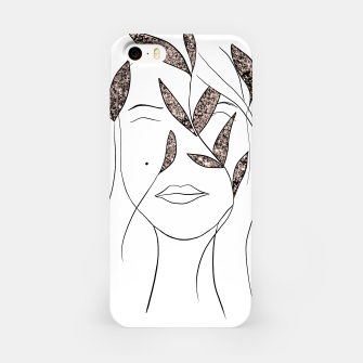 Thumbnail image of Glitter Lady #2 #minimal #line #art  iPhone-Hülle, Live Heroes