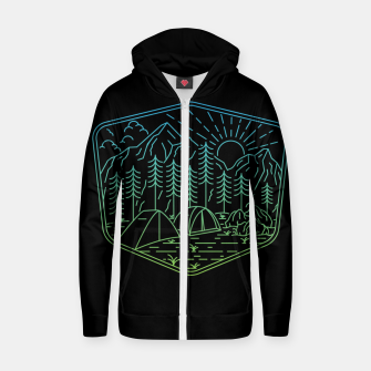 Relaxation Zip up hoodie Bild der Miniatur