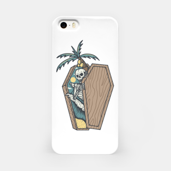 Miniatur Rest in Paradise iPhone Case, Live Heroes