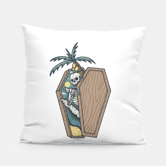 Thumbnail image of Rest in Paradise Pillow, Live Heroes