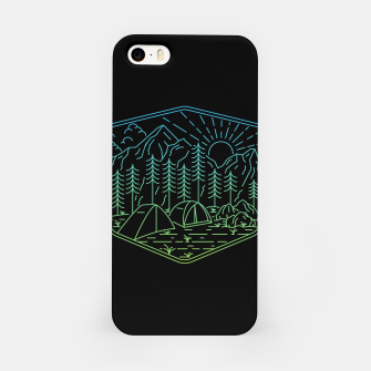 Miniatur Relaxation iPhone Case, Live Heroes