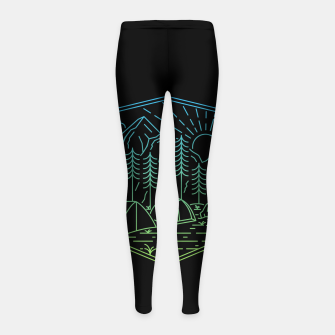 Miniatur Relaxation Girl's leggings, Live Heroes