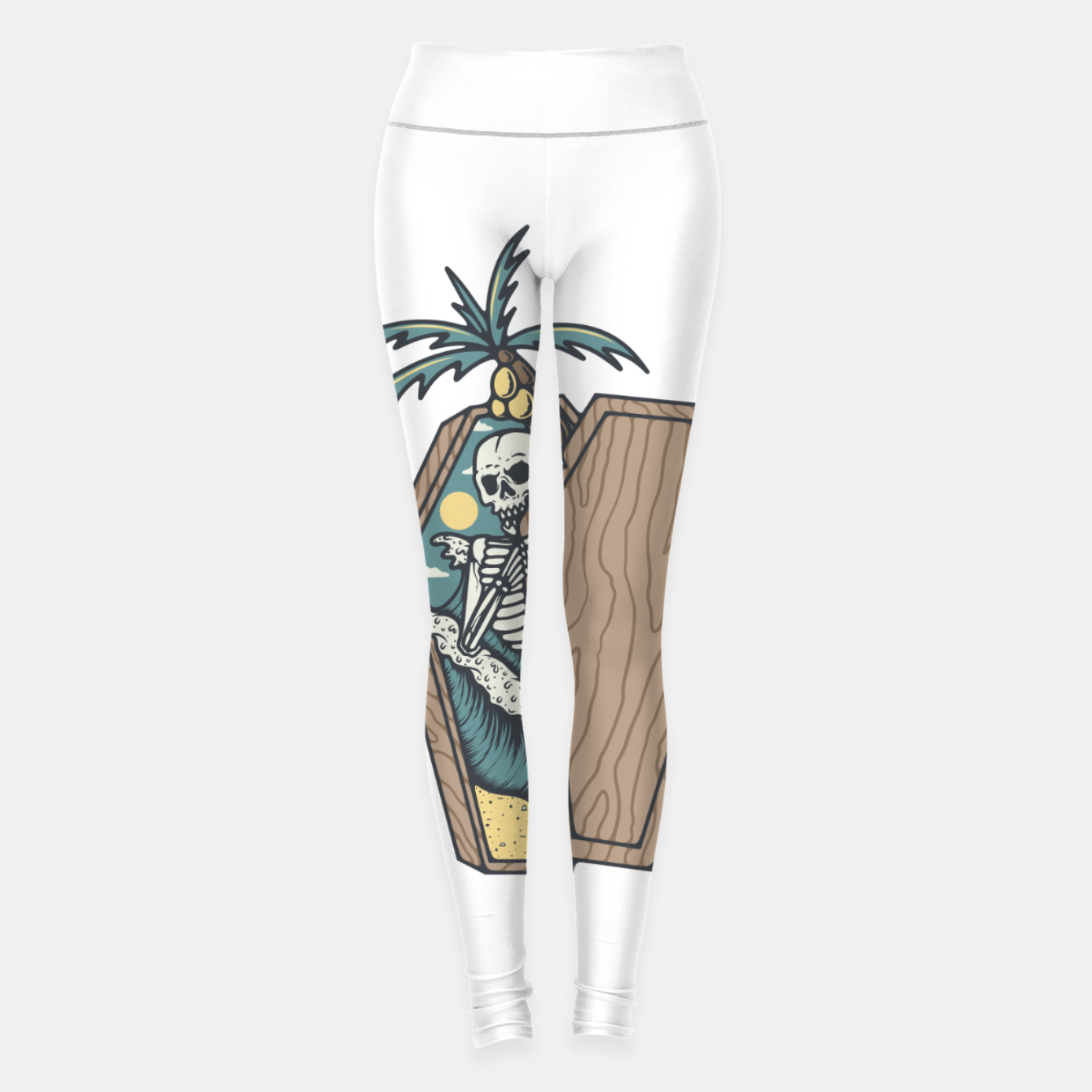 Image of Rest in Paradise Leggings - Live Heroes