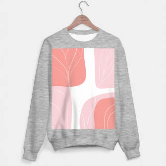 Naturelle Flower Shapes #1 #minimal #wall #decor #art  Sweatshirt regulär thumbnail image
