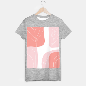 Naturelle Flower Shapes #1 #minimal #wall #decor #art  T-Shirt regulär thumbnail image