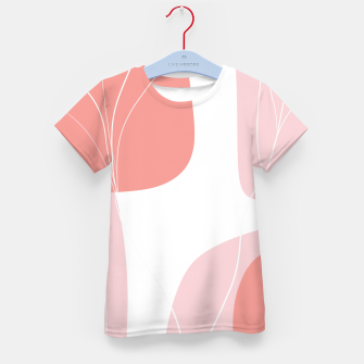 Naturelle Flower Shapes #1 #minimal #wall #decor #art  T-Shirt für kinder thumbnail image