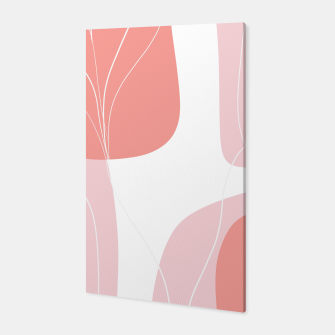 Naturelle Flower Shapes #1 #minimal #wall #decor #art  Canvas thumbnail image