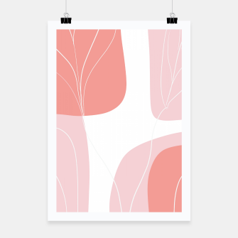 Naturelle Flower Shapes #1 #minimal #wall #decor #art  Plakat thumbnail image