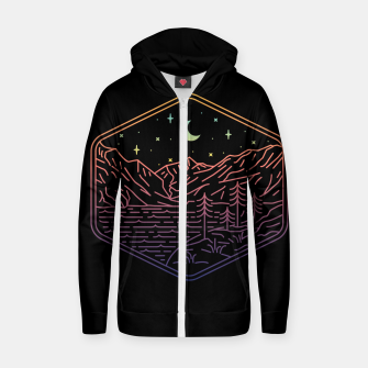 Miniatur Great Night Zip up hoodie, Live Heroes