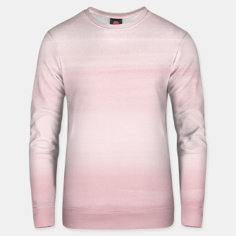 Thumbnail image of Touching Blush Watercolor Abstract #1 #painting #decor #art Unisex sweatshirt, Live Heroes