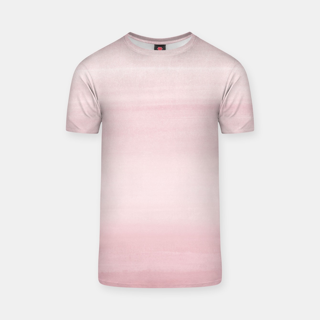 Foto Touching Blush Watercolor Abstract #1 #painting #decor #art T-Shirt - Live Heroes