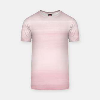Miniature de image de Touching Blush Watercolor Abstract #1 #painting #decor #art T-Shirt, Live Heroes