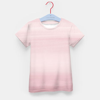 Miniature de image de Touching Blush Watercolor Abstract #1 #painting #decor #art T-Shirt für kinder, Live Heroes