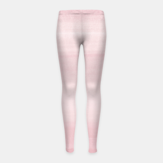 Miniature de image de Touching Blush Watercolor Abstract #1 #painting #decor #art Kinder-Leggins, Live Heroes