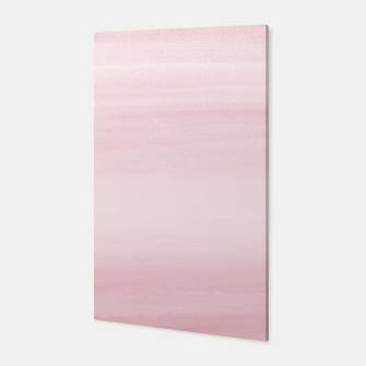 Miniature de image de Touching Blush Watercolor Abstract #1 #painting #decor #art Canvas, Live Heroes