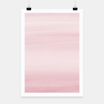 Miniature de image de Touching Blush Watercolor Abstract #1 #painting #decor #art Plakat, Live Heroes