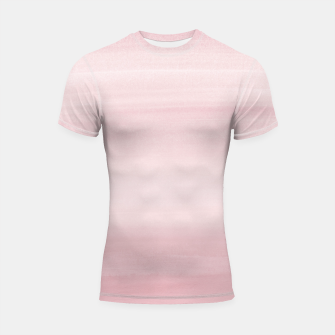 Miniature de image de Touching Blush Watercolor Abstract #1 #painting #decor #art Shortsleeve rashguard, Live Heroes
